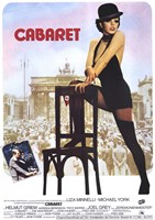 "Cabaret Mannielli with Chair - 11"" x 17"""