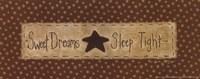 "Sweet Dreams - tan by Vicki Huffman - 10"" x 4"" - $9.99"