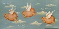 Hog Heaven Fine Art Print