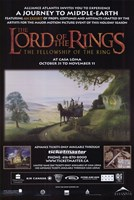 Lord of the Rings: Fellowship of the Ring Motion Picture Fine Art Print
