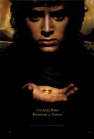 Lord of the Rings: Fellowship of the Ring Frodo with Ring Fine Art Print
