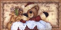 Ho, Ho, Ho . . . Merry Christmas Fine Art Print