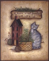 "A Purr-fect Home by Mary Ann June - 8"" x 10"""