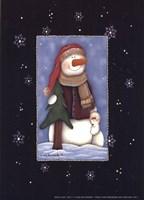 Snow Love Fine Art Print
