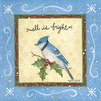 "All is Bright by Annie Lapoint - 12"" x 12"""