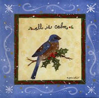 "All is Calm by Annie Lapoint - 12"" x 12"""