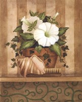 Petunia and Shell Fine Art Print