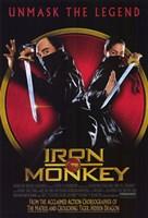 """Iron Monkey - 11"""" x 17"""""""