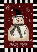 Frosty Days Fine Art Print