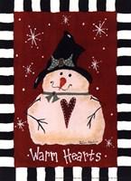 Warm Hearts Fine Art Print