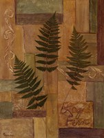 Log Fern Fine Art Print