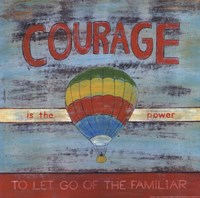 "12"" x 12"" Courage Pictures"