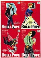Guys and Dolls Bulli e Pupe 4 Shots Fine Art Print