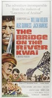 Bridge on the River Kwai Cartoon Fine Art Print