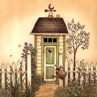 Cottage Outhouse I Fine Art Print