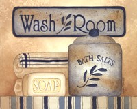 Wash Room Fine Art Print