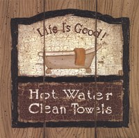 Hot Water Fine Art Print