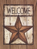 """Star Welcome by Linda Spivey - 12"""" x 16"""""""