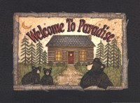 Welcome to Paradise Fine Art Print
