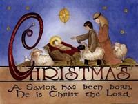"""16"""" x 12"""" Christmas Art"""