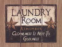 Laundry Room Fine Art Print