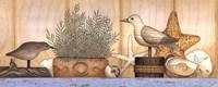 "Seaside Still Life by Linda Spivey - 20"" x 8"""