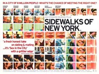"Sidewalks of New York Collage - 17"" x 11"""