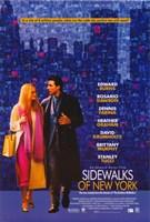 "Sidewalks of New York Edward Burns - 11"" x 17"""