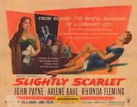 """Slightly Scarlet - 17"""" x 11"""""""