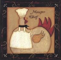 Master Chef Fine Art Print