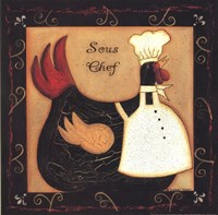 Sous Chef Fine Art Print
