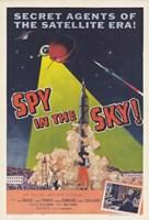 """Spy in the Sky - 11"""" x 17"""""""