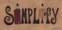 Simplify Fine Art Print