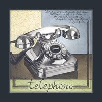 Telephono Fine Art Print