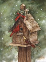 Home for the Holidays Fine Art Print