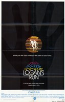 "Logan's Run - black - 11"" x 17"""