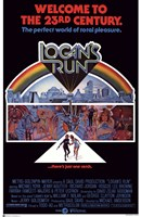 """Logan's Run - Welcome to the 23rd century - 11"""" x 17"""""""