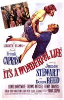 It's A Wonderful Life Frank Capra - scene Fine Art Print