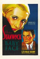 """Baby Face Nelson - Stanwyck - 11"""" x 17"""" - $15.49"""