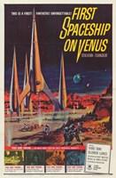 """First Spaceship on Venus - 11"""" x 17"""""""
