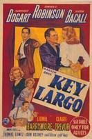 Key Largo Cartoon Fine Art Print