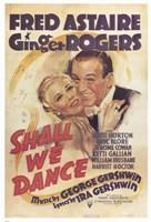 "Shall We Dance George Gershwin - 11"" x 17"""