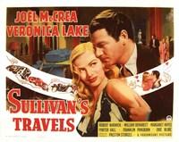 "Sullivan's Travels - couple - 17"" x 11"""
