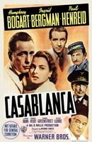 "Casablanca Cast - 11"" x 17"""