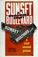 """Sunset Boulevard a Most Unusual Picture - 11"""" x 17"""""""
