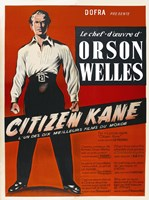 "Citizen Kane Red - 11"" x 17"" - $15.49"