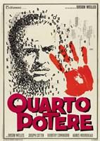 "Citizen Kane Quarto Potere - 11"" x 17"""