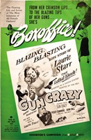 "Gun Crazy Story Of Laurie Starr - 11"" x 17"""