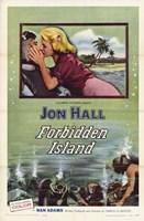 "Forbidden Island - 11"" x 17"""