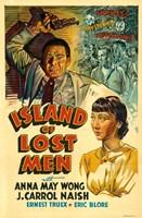 "Island of Lost Men - 11"" x 17"""